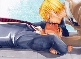 [Ao*Kise]Happy Birthday, Aominecchi by iarladiel