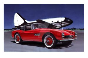 BMW 507 by Carart