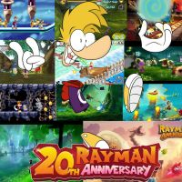Rayman 20th Anniversary by mexican64