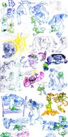Monsters university sketch dump by MariaRuta
