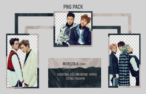 MONSTA X PNG PACK by TugcePir