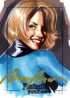 Fantastic Four Sketchcard 1 by felipemassafera