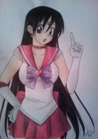Sailor Mars by Killjoy-Chidori