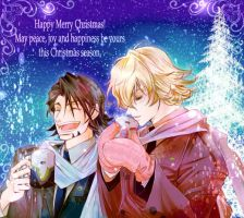 Tiger and Bunny Secret Santa by raidaiki