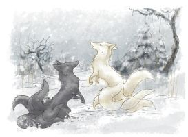 Winter by Piquipauparro