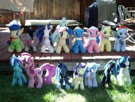 My Little Pony Plushies. We. Are. Legion. by SniperTeam4