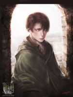 Attack on Titan: Levi by scarlet6297