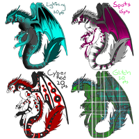 Dragon Point Adopts 1 by Kyuubi-Adopts