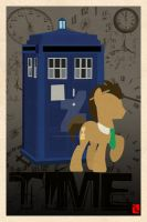 Doctor Whooves Time  by moonlighthouse