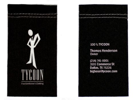Tycoon Business Card 01 by SallyHamilton