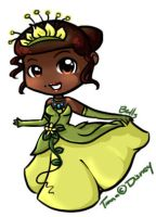 Princess Tiana by Jingley-Bells