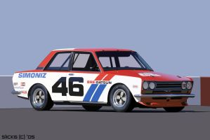 Datsun 510 BRE by Slick6