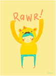 Rawr by liljeska