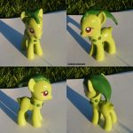 Chikorita Ponymon by ChibiSilverWings