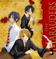 Harry Potter - The Marauders by kanae