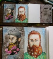 Urban Sketchbook Exchange by LimehouseBlues