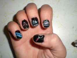 Sherlock BBC Nail Art 2 by MoonbeamInTheSky
