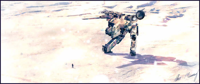 Metal Gear Face Off by Hayter