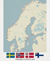 The Nordic Union 1918 by Jockehh