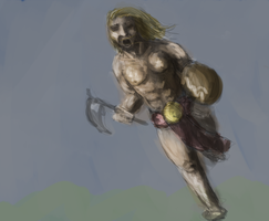 Viking Speed Painting by Mouse-M