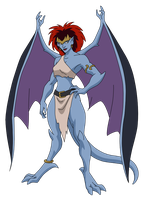 Demona by SpiedyFan