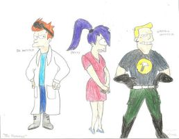 Dr Horrible/Futurama by Frosty2011