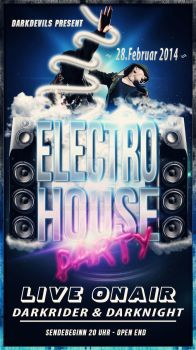 Electro House Flyer by Biggimaus