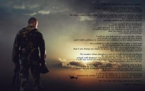 Army Wife Creed by slight-art-obsession