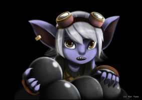 League of Legends: Tristana Rework by kaiyuan