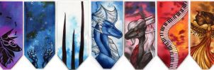 Christmas Bookmarks by Natoli