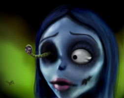 Emily- Corpse Bride by Picassita