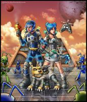 Jet Force Gemini Tribute by Lukael-Art