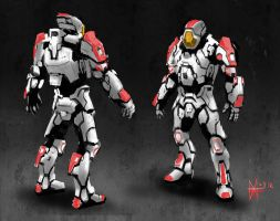 hard suit by mikemars