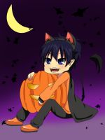 Happy Halloween! - Rin Okumura by nao-chan99