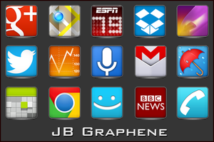 Android Icons | JB Graphene by lostintortola