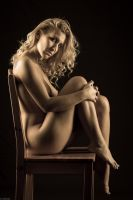 Jenny on the chair by gb62da