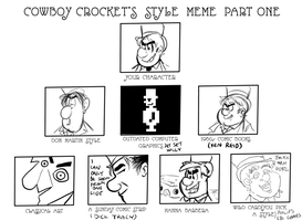 Cowboy Crocket Style Meme with a TopperHay Flavour by TopperHay
