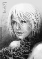 Charlize Theron by emmil