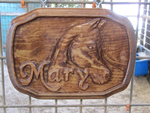 First wood carving by StephenCook