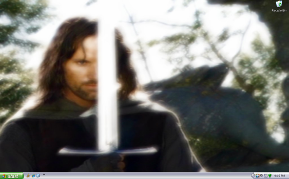 Aragorn screenshot by purgatori