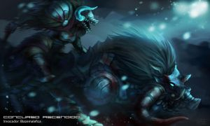 Sejuani, Ascended Beast by Artsed