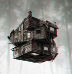 Cabin in the Woods 3-D conversion by MVRamsey