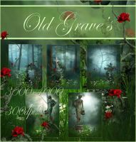 Old Graves backgrounds by moonchild-ljilja