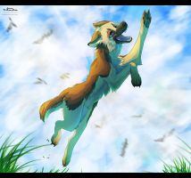 I touch the Sky by hatixato
