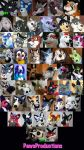 All the PawsProductions suits by PlushiePaws