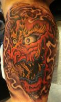 Dragon Oni Mask by HollywoodTatu