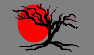 Red Sun by mitzideon