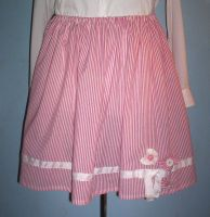 Nautical Country Skirt by GothicDorothy