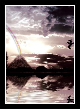 At the End of the Rainbow by psychodelic
