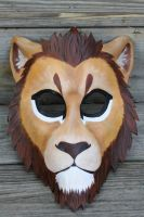 Lion mask by SilverCicada
